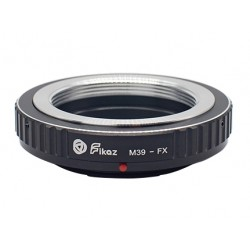 Fikaz Adapterring Leica Schraub M39 für Fuji-X