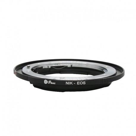 Adaptador Fikaz NIKON para Canon EOS