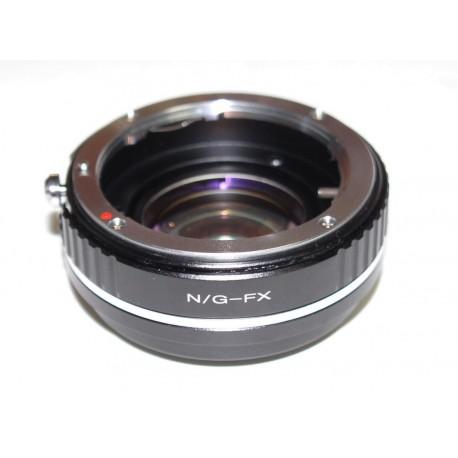 Reductor de Focal RJ de Nikon-G para Fuji-X