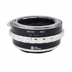 Fikaz Adapter for Nikon-G lens to Sony E-mount