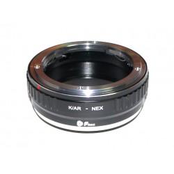 Fikaz Adapterring Konica-AR für Sony-E Kamera
