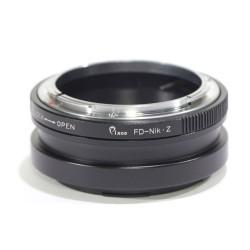 Adaptador Canon-FD para cámaras Nikon-Z