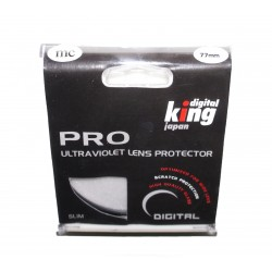 Digital King Professioneller UV-Filter Multi-Coated Slim 77mm