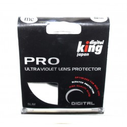 Digital King Professioneller UV-Filter Multi-Coated Slim 62mm