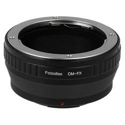 Adaptador Fotodiox objetivos Olympus OM a Fuji-X