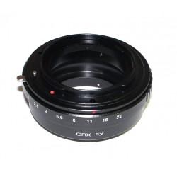 Adaptador montura Contarex para Fuji-X