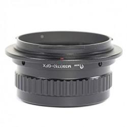 Adaptador M39 para Fuji-GFX con helicoide (f75)