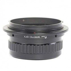 Adapter with helicoide for M39 lens to Fuji-GFX (f75)