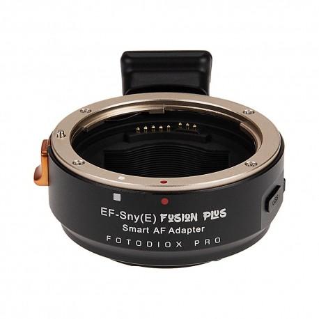 Adaptador Fotodiox Fusion PLUS de Canon EOS para Sony-E