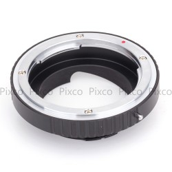 Adapter for Konica-AR lens to Leica-M camera mount