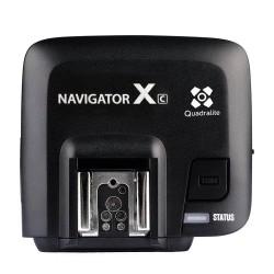 Quadralite Navigator X Drahtloser Empfänger Blitzempfänger Auslöser TTL Flash Trigger für Canon