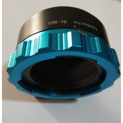 "Adaptador Fotodiox Pro de ópticas 4/3"" (B4) a Sony montura-E"