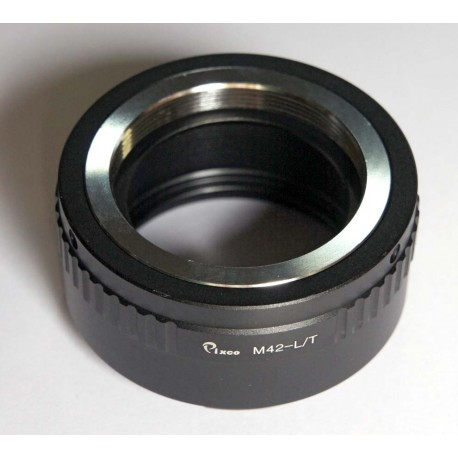 Pixco Adapter for M42 thread lens to Leica L-Mount