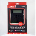 LVSUN Professional Duo LCD Charger for 2x Olympus CLI50B