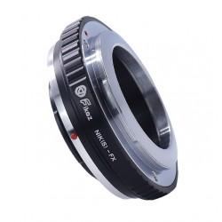 Fikaz adapter for Nikon-S (Contax-RF) lens to Fuji-X