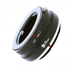 Adaptador Minolta MD para cámaras Nikon-Z