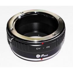 Fikaz Objektiv Adapterring für Yashica/Contax Objektive auf Fuji-X Kamera