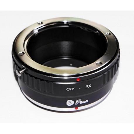 Fikaz Adapter for Yashica/Contax lens to  Fuji-X