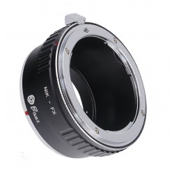 Fikaz Objektiv Adapterring für Nikon Objektive auf Fuji-X