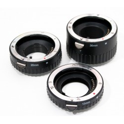 Tubos extensión AF para Canon EOS