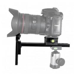 Bexin L-200 Kamera Objektivstütze Telestütze mit QR-System Arca Swiss Type