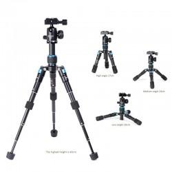 Bexin MS08 mini  Set Kamerastativ  inkl. V-30 Kugelkopf