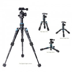 BEXIN MS08 ULTRA COMPACT Desktop Macro Mini Tripod Kit With Ball Head