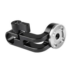 Abrazadera para barra de 15mm con conexión ARRI Rosette