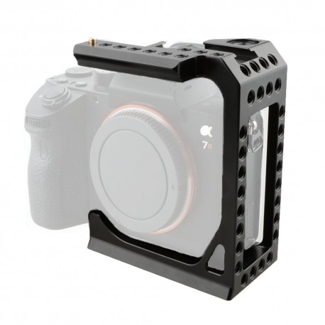 CAMVATE Camera Half Cage Formfitting For Sony A7s A7RII A7s2 A7sII A7r3 A73 A9