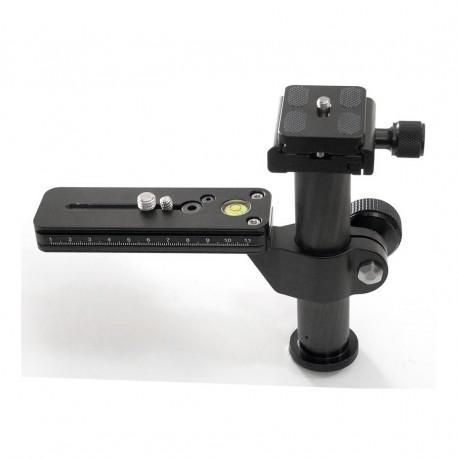 Bexin M120-38 Kamera Objektivstütze Telestütze mit QR-System Arca Swiss Type
