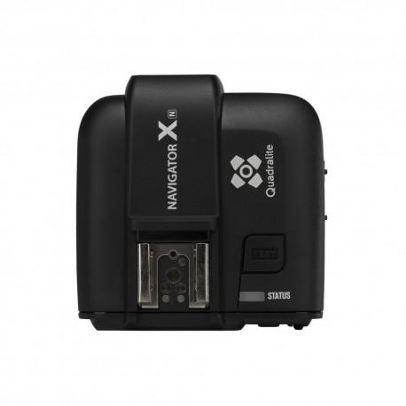 Quadralite Navigator-X Wireless & Grouping Flash Trigger for Nikon