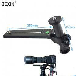 Bexin M250-50 Kamera Objektivstütze Telestütze mit Manfrotto Type