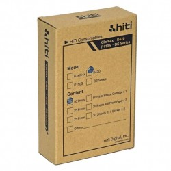 Photopaper and Ink pack HITI serie S 10x15 (4x6)