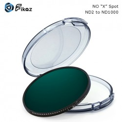 Fikaz ND2-1000  filter 72mm diameter