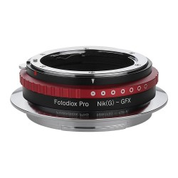 Fotodiox Pro Adapter for Nikon-G lens to Fuji GFX50S