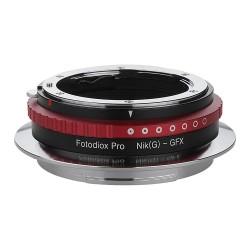Fotodiox Pro Nikon-G Objektiv Adapterring für Fuji GFX50S