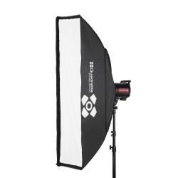 Quadralite Softbox 30x120cm with grid