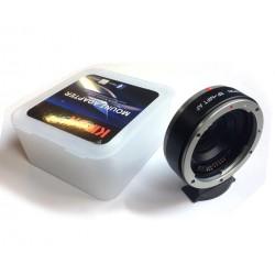 Adaptador inteligente de Canon-EF a micro-4/3 tipo AF