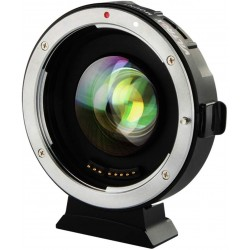 Reductor de Focal AF Viltrox de objetivos Canon EF a cámara micro 4/3