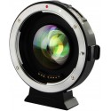 VILTROX EF-M2II AF Focal Reducer Booster Adapter for Canon EF to Olympus Micro 4/3 Camera