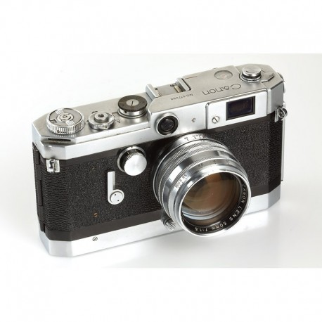 Canon VT Chrome rangefinder camera. Lens 1,5/50mm
