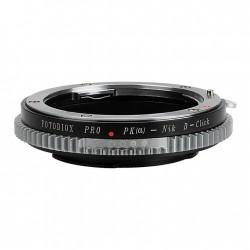 Adaptador Fotodiox Pro Pentax-K para Nikon control apertura