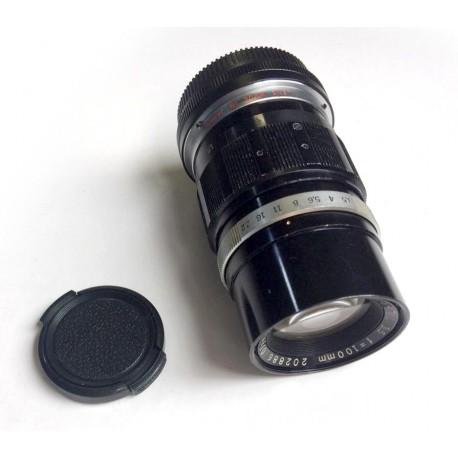 OLYMPUS E.ZUIKO AUTO-T 1:3.5 100mm lens for MFT