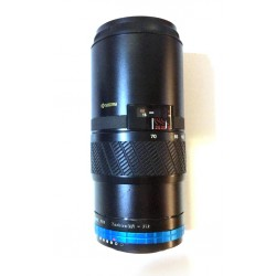 Objetivo Kyocera 70-210mm teleconvertido (x1,25) a Nikon