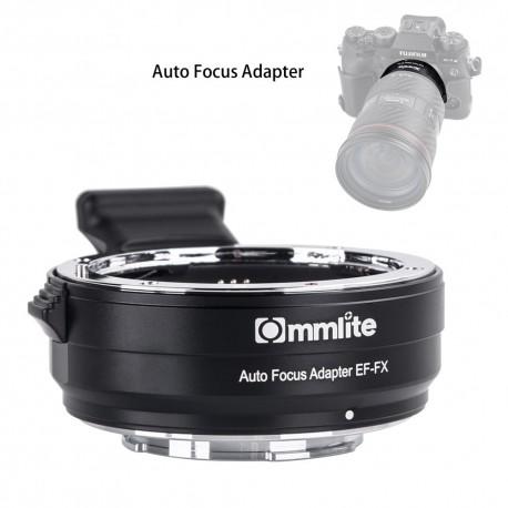 Adaptador inteligente AF de objetivos Canon-EF a Fuji-X