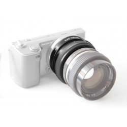 Adaptador objetivos bayoneta PETRI para cámaras Sony NEX