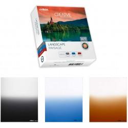Conjunto de 3 filtros Densidad Neutra (Cokin Kit M Paisaje)