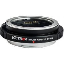 Adaptador inteligente Viltrox  de objetivos Canon EF para Montura Fuji GFX