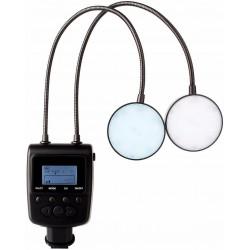 Blitz Blitz Makro Speedlite Lampe mit flexiblem Metallwinkel einstellbar