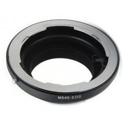 Adapter for Mamiya 645 lens to Canon EOS